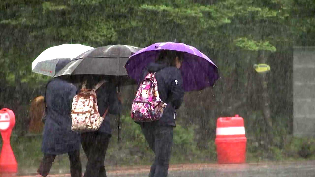 [기상센터][날씨]    주말에는 전국의 비와 강풍을 조심하십시오 …