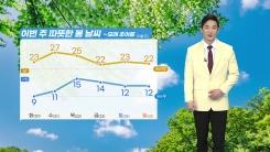 [날씨] 이번 주 대체로 맑고 따뜻...모레 초여름 더위