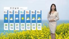 [날씨] 오늘 '곡우'...서울 한낮 23도, 일교차 주의