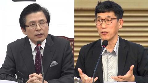"""진중권, '정계 복귀' 황교안에 """"넋 놓고 있는 것만으로도 애국"""""""