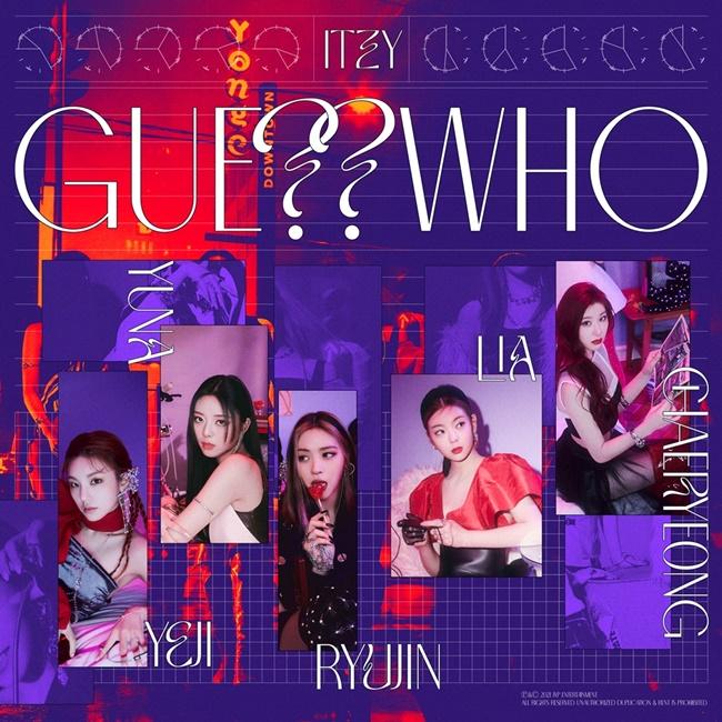 있지, 새 앨범 'GUESS WHO', 자체 초동 기록 경신