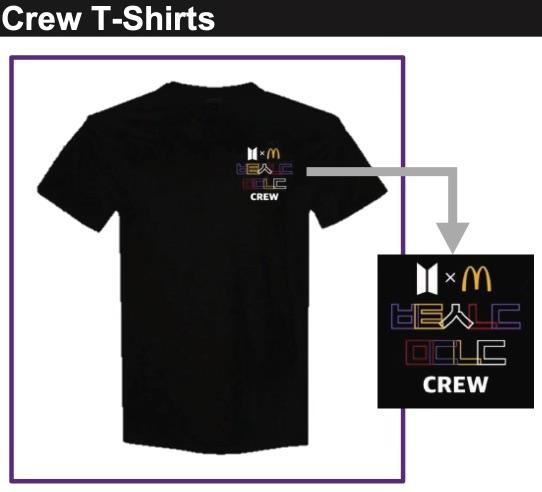 전 세계 맥도날드 직원, BTS '한글 티셔츠' 입는다