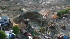 광주서 5층 건물 무너져 시내버스 덮쳐...9명 사망·8명 중상