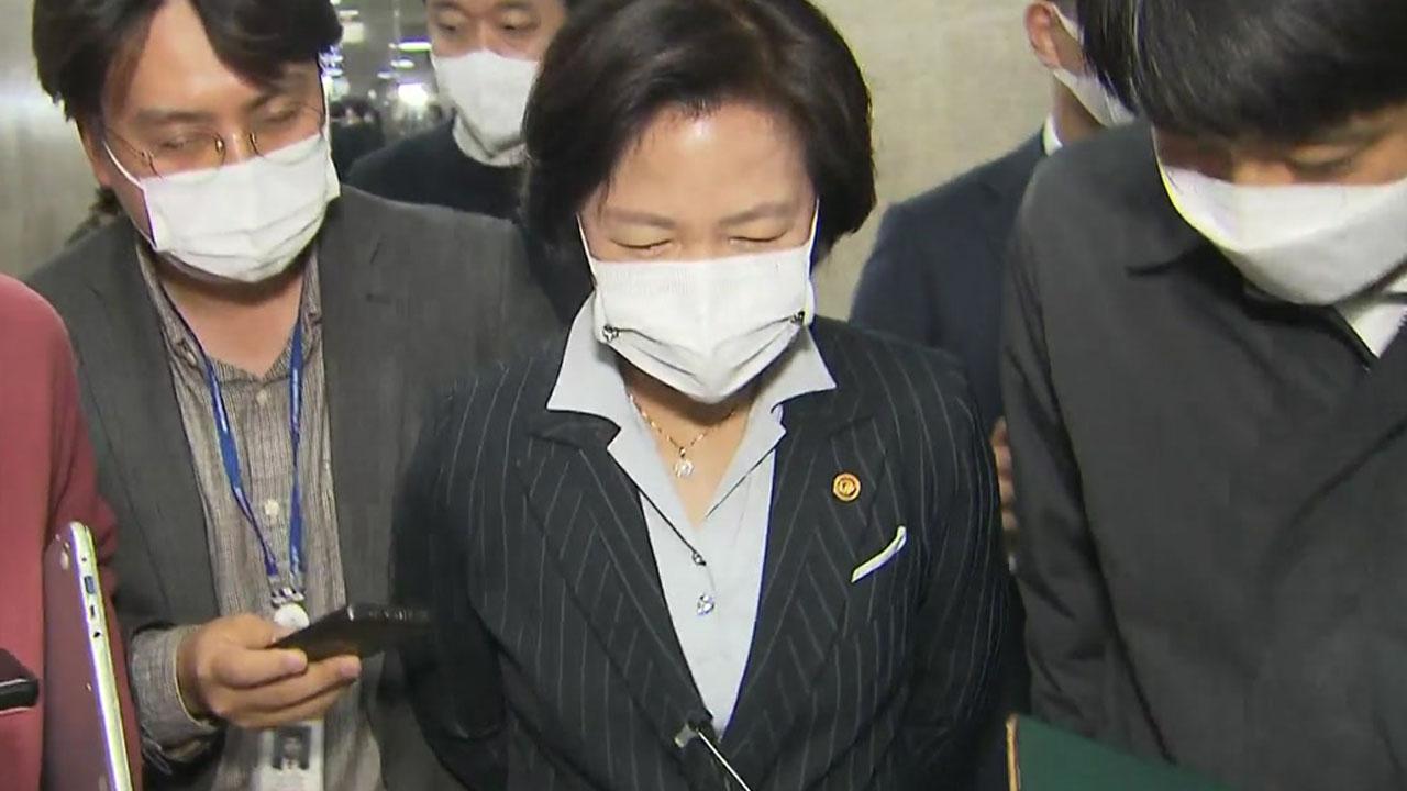 """추미애 """"윤석열 대권행, 민주주의를 악마에 던져주는 것"""""""