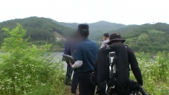 '쇠줄에 묶인 시신'은 50대 남성...사망 경위 조사 중