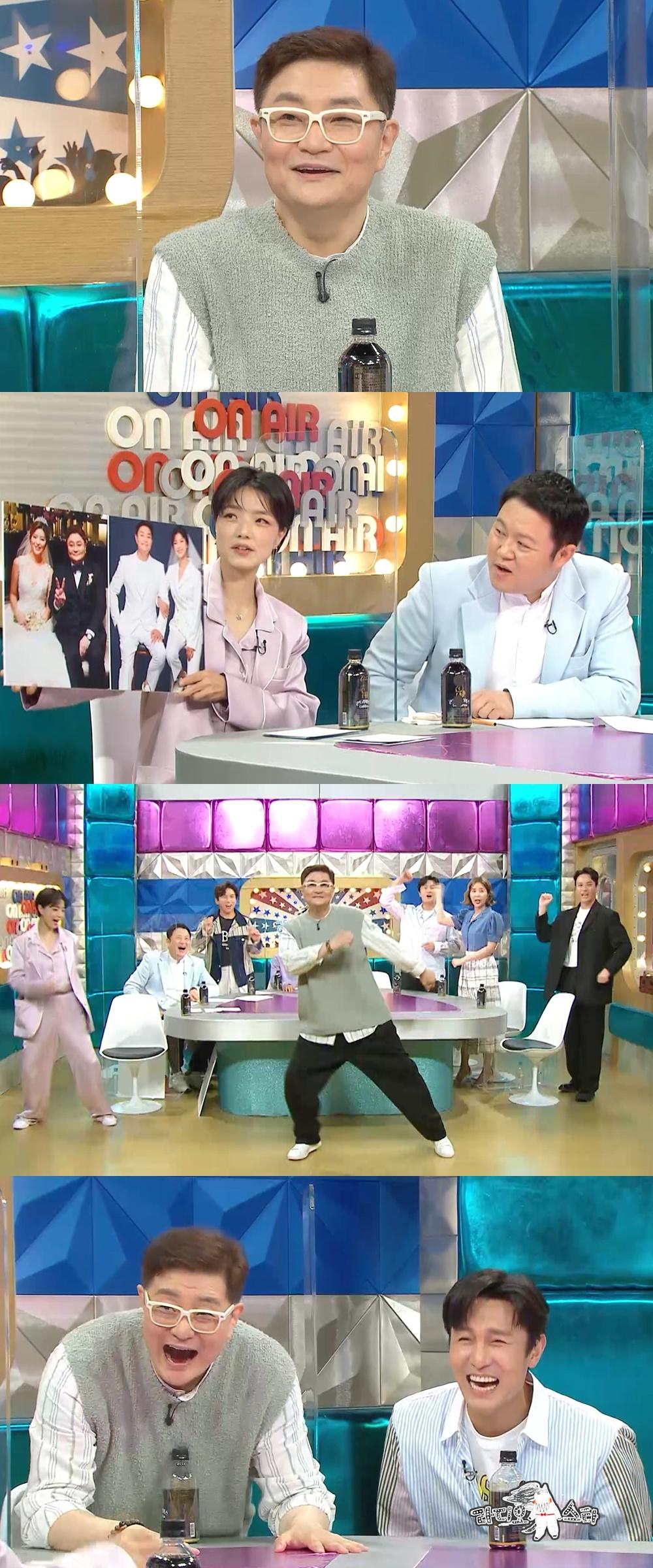 """""""장모님과 8살 차이""""…'라스' 정재용, 아내와 러브스토리 공개"""
