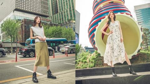 모델 김효경의 트렌디한 썸머 부츠 스타일링 제안