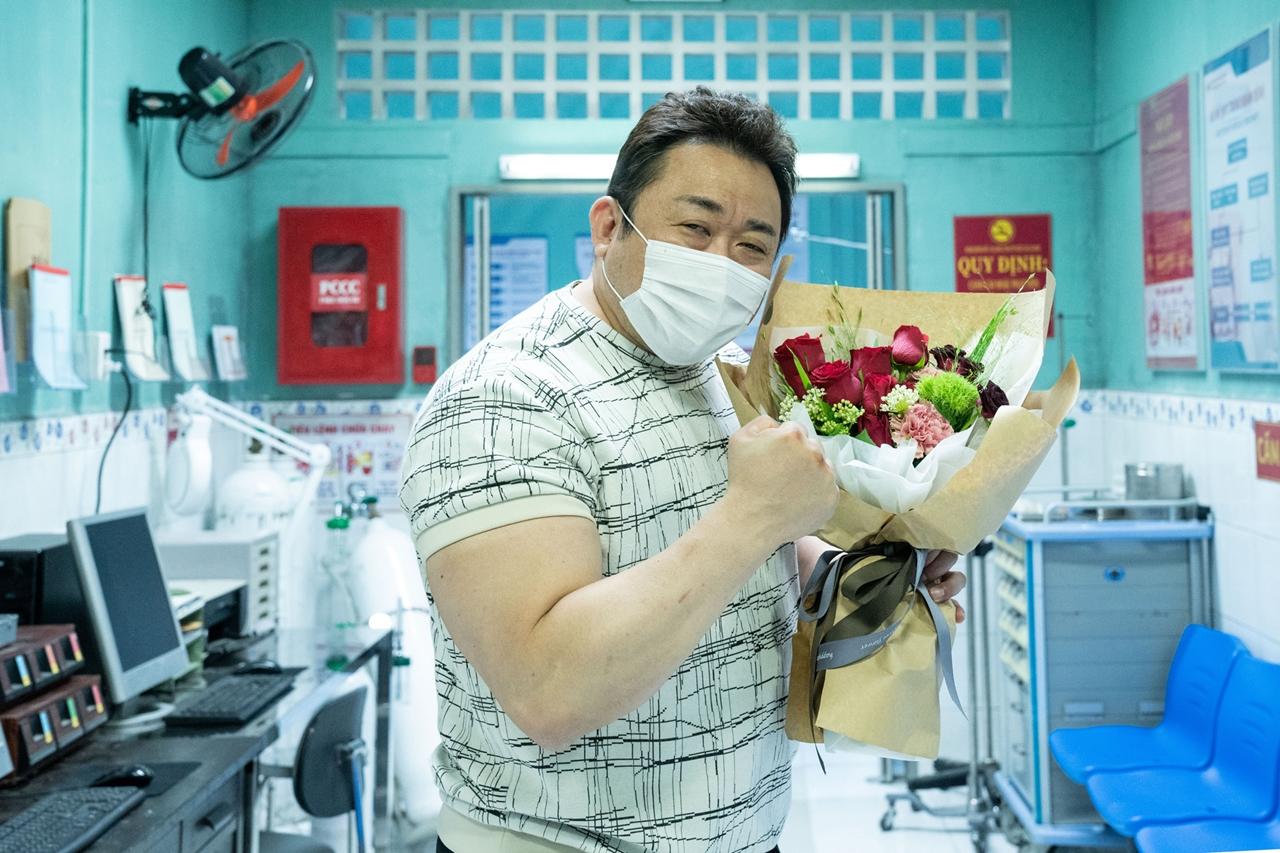 """'범죄도시2' 15일 크랭크업, 마동석 """"코로나19 속 안전 최우선으로 촬영"""""""