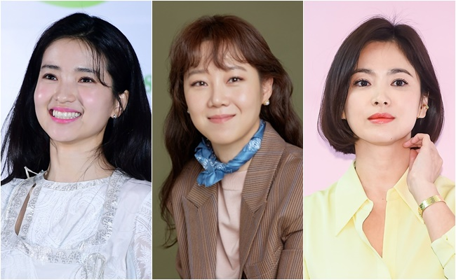 [Y랭킹] 김태리부터 송혜교까지...제작사가 선택한 女배우 순위