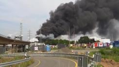 독일 레버쿠젠 화학공단 폭발사고...1명 사망·4명 실종