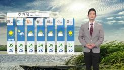 [날씨] 내일도 찜통더위 계속...수도권, 충청, 전북 내륙 오후부터 소나기