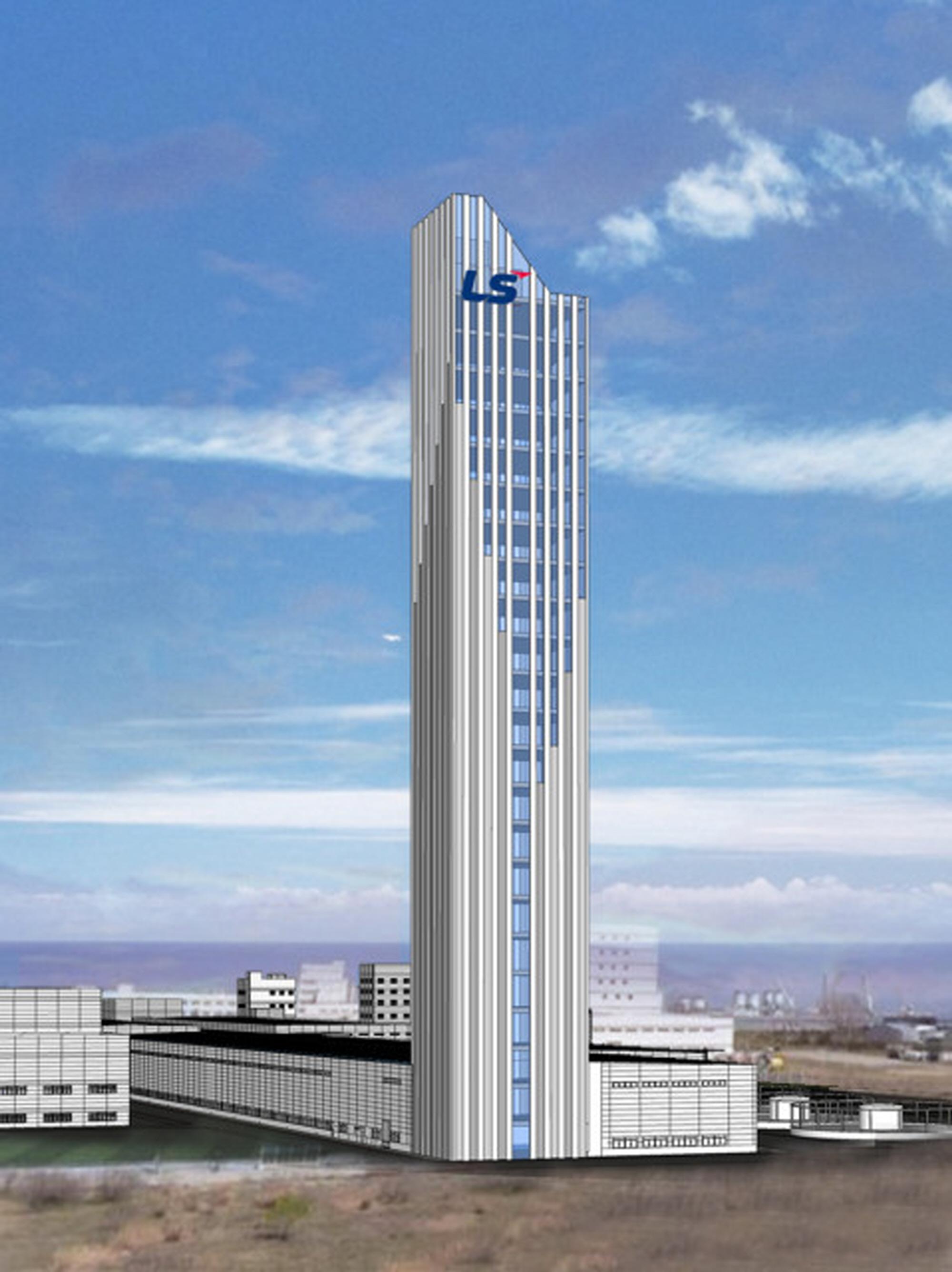 〔ANN의 뉴스 포커스〕 국내 최대 높이 172m 초고층 VCV 초고압 케이블 생산타워