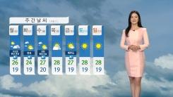 [날씨] 쾌청한 하늘 큰 일교차...밤부터 동해안 비