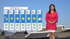 [날씨] '백로' 전국 가을비...서해안 강풍특보