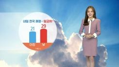[날씨] 내일 전국 쾌청...늦더위 기승·일교차↑