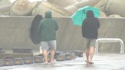 [날씨] 태풍 북상, 제주도 500mm↑ 폭우...중부 늦더위