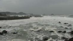 [날씨] 태풍 남해안 스칠 듯...제주도에 모레까지 500mm 폭우