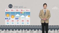 [날씨] 내일 태풍 '찬투' 영향...제주·충청 이남 '비'