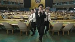 "BTS 유엔 유튜브 '폭발'...""관심 환기가 우리의 역할"""