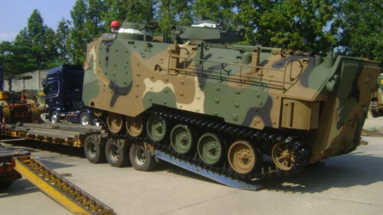 차기 상륙돌격장갑차 국산엔진 연구개발...해병대 기동성 향상