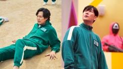 '오징어 게임' 속 초록색 체육복 실제로 나온다