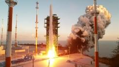 [속보] 첫 한국형 발사체 '누리호' 발사...우주로 첫 걸음