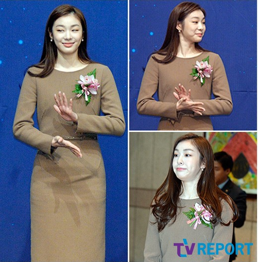 김연아 '깨알같은 표정 부자~ 뭘해도 깜찍해'