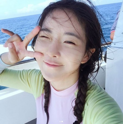 """""""청량美 지존"""" 조현영, 봄 닮은 미모"""