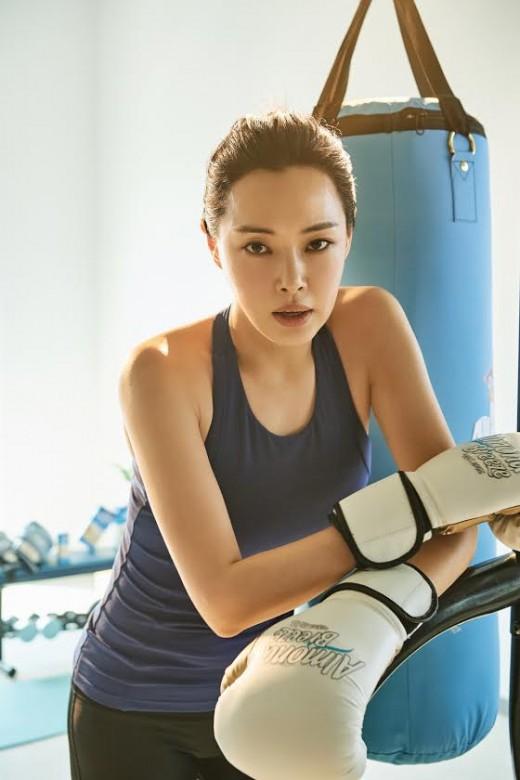 이하늬, 워너비 보디 '건강美 넘버원'