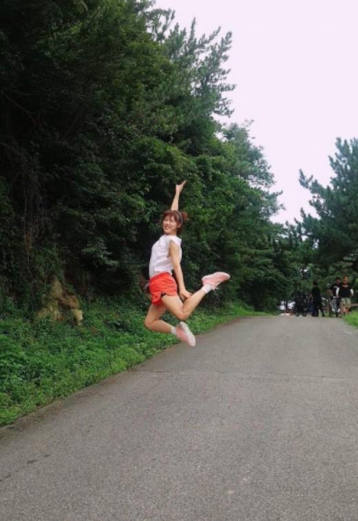 하지원, 에너제틱 모닝 점프