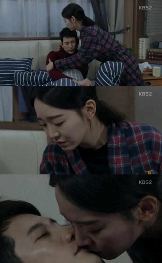 '황금빛내인생' 신혜선, 박시후에 작별의 키스 '눈물'_이미지
