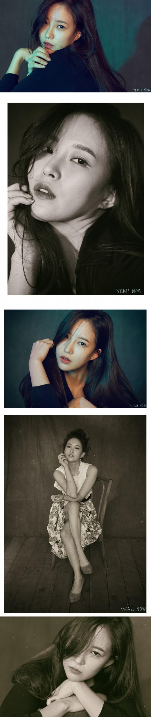 """'장기용 결별' 이예나, 화보 공개 """"더 알고 싶어지는 배우 되고파"""""""