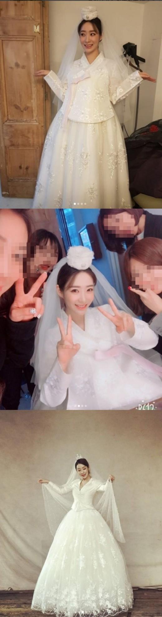 """""""역시 짱입니다""""…'4월의 신부' 안소미, 웨딩화보 현장 공개"""