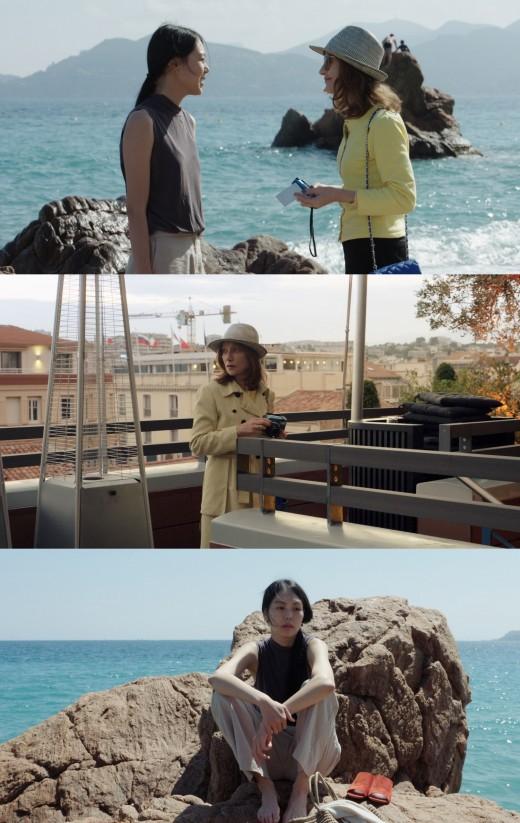 김민희x홍상수 '클레어의 카메라' 칸에서 만난 순간들_이미지