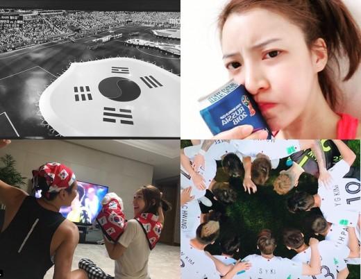 """""""전반전 종료, 이기자"""" 김선아→하하♥별, 뜨거워진 ★ 응원ing_이미지2"""