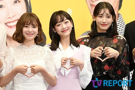김다예-이유미-홍서영 '우열 가릴 수 없는 미모'