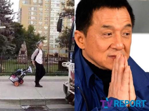 집 나간 성룡 딸, 캐나다 포착…쓰레기장 뒤지며 노숙?_이미지