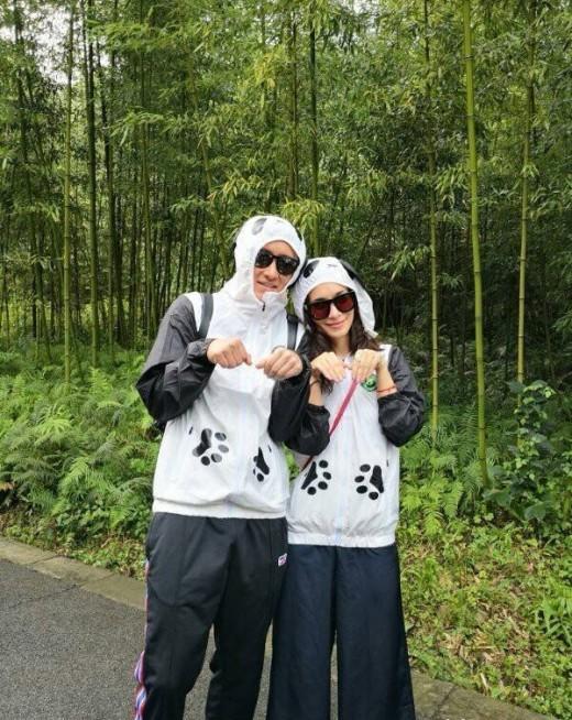 슈주 출신 한경, ♥셀리나 제이드와 판다센터 데이트_이미지
