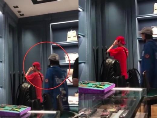루한♥관효동, 日 명품 쇼핑 데이트…대놓고 열애 중_이미지2