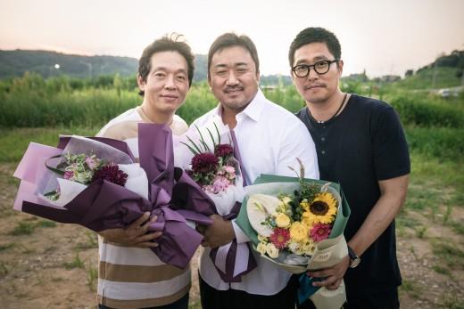 마동석표 불도저 액션…'성난황소' 크랭크업