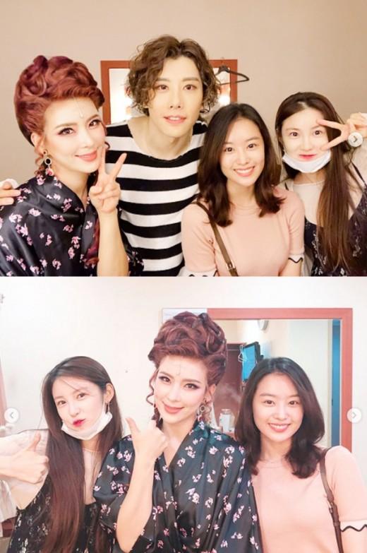 """""""정선아·박효신도 함께"""" 전효성X송지은, 시크릿 자매의 뮤지컬 관람_이미지"""