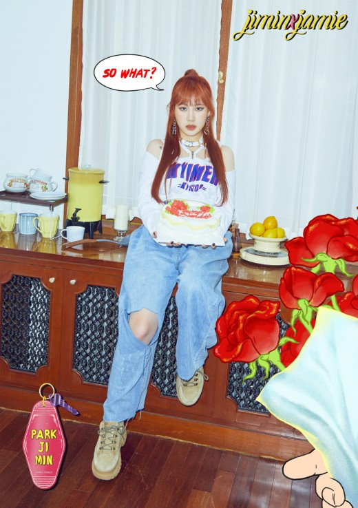 """""""소녀가 변했다""""…박지민의 'April Fools (0401)'_이미지2"""