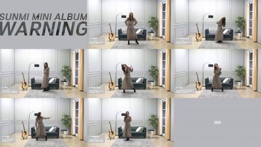 '컴백 D-3' 선미, '워닝' 하이라이트 메들리 공개…댄스까지 완벽_이미지2