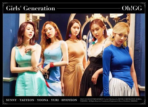 5인조 축소, 파워는 여전…역시 소녀시대 _이미지
