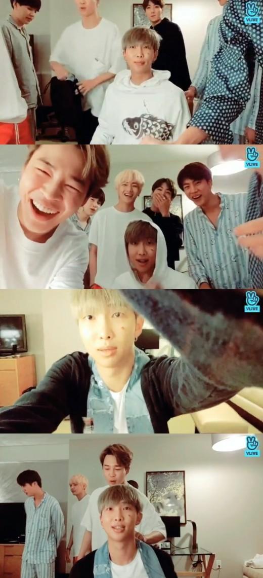 """""""해피 데이"""" 방탄소년단, 오늘(12일) RM 생일 축하…'케이크+축하송'_이미지"""