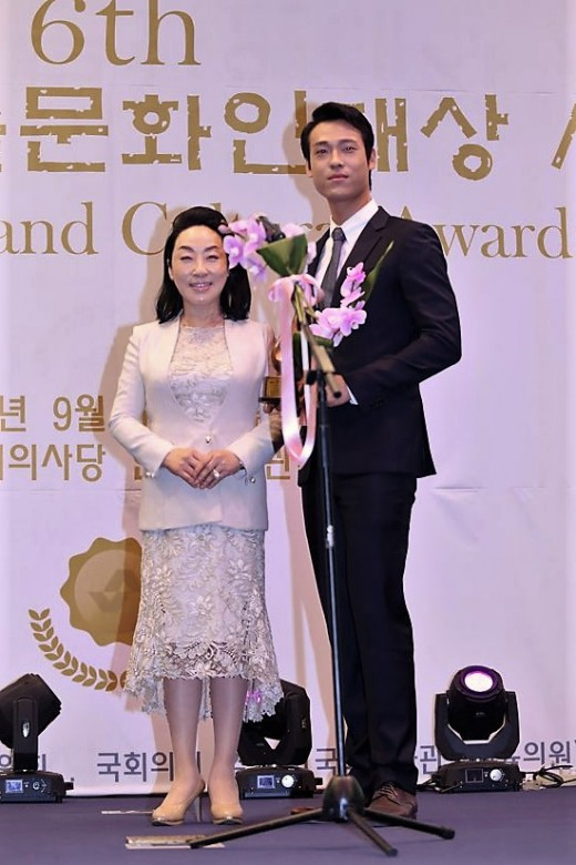 방송인 한도숙, 제6회 대한민국 예술문화인대상 시상자 참석_이미지