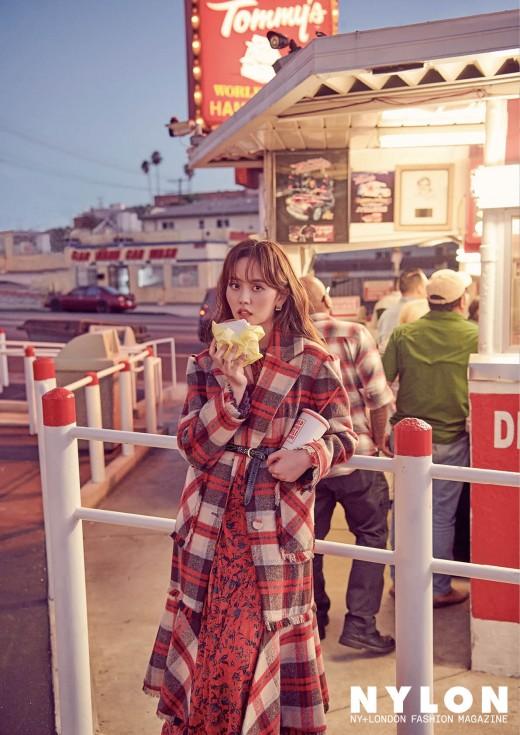 '스무 살' 김소현, LA 홀린 가을 여신