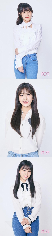 최예나, 안유진, 야부키 나코…아이즈원의 비주얼 발산