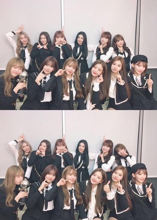 데뷔 11일 만에 1위한 아이즈원