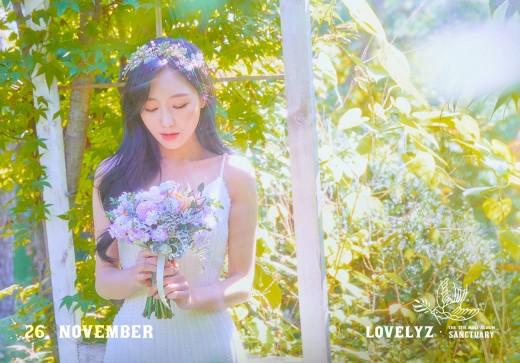 러블리즈 진X류수정, 컴백 D-9 첫 콘셉트 포토 공개…청초한 여신美